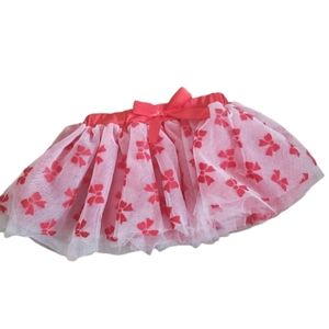 Baby Gear Tulle Red Bow Skirt 12-24 Months